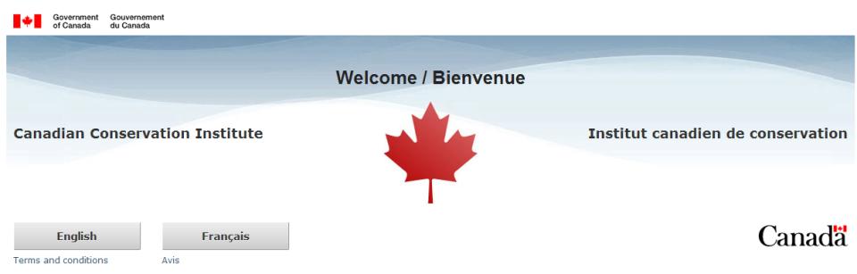 L'Institut canadien de conservation (ICC)